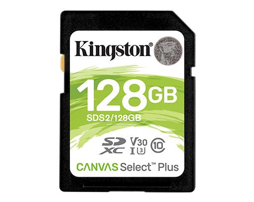 128GB  SDXC Card (Class 10) UHS-I