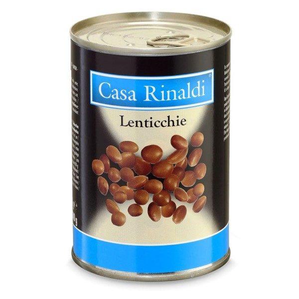 Boabe de linte fierte Casa Rinaldi 400 g