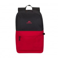 "16""/15"" NB backpack - RivaCase 5560 Black/Pure Red"