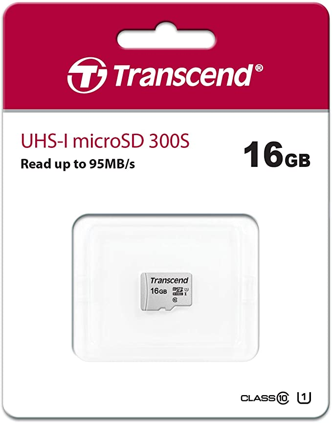 16Gb MicroSD (Class 10) UHS-I (U1)