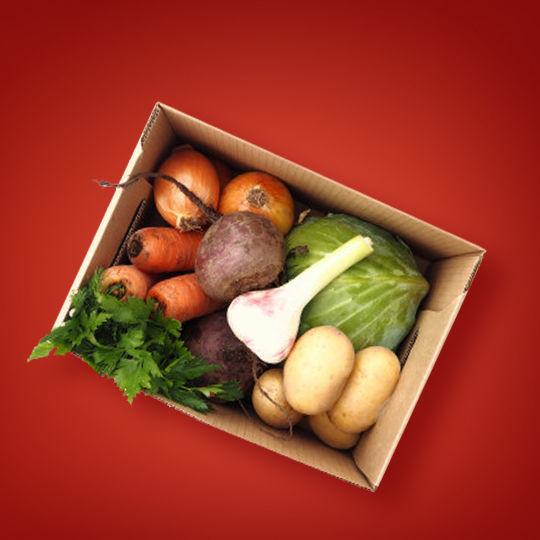 """Cutia """"legume pentru borș"""""""