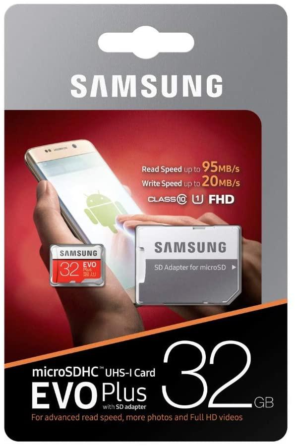 32Gb MicroSD (Class 10) UHS-I (U1)+SD adapter