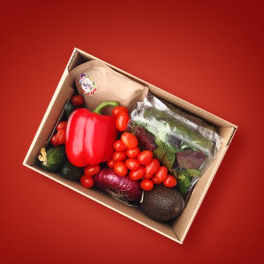"""Cutia """"legume pentru salată"""""""