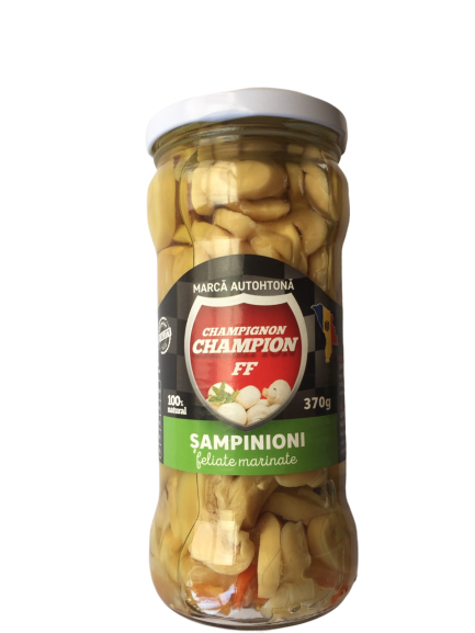 Sampinioni Marinate feliate, 0.370 kg