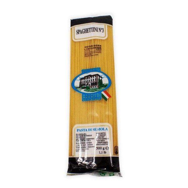 Paste Barbieri N.3 Spaghettini 500 gr