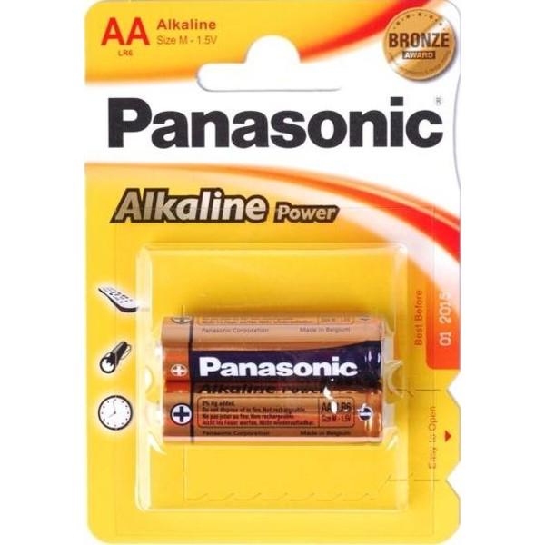 """Panasonic """"ALKALINE Power"""" AA Blister* 2"""
