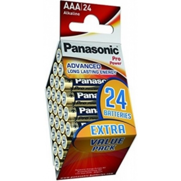 """Panasonic  """"PRO Power"""" AAA Blister*24"""