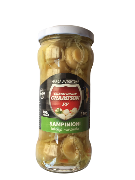 Sampinioni Marinate intregi, 0.370 kg