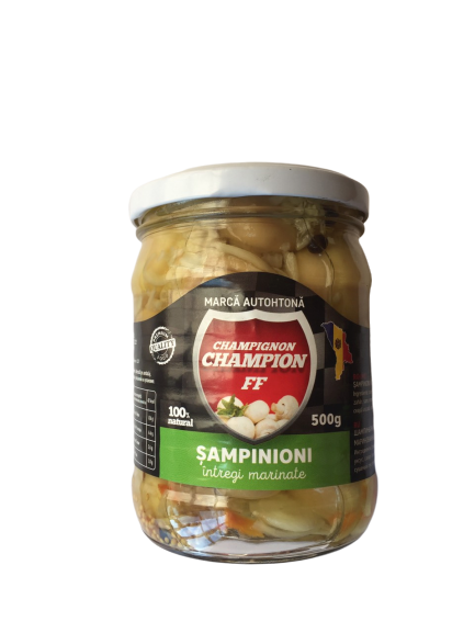 Sampinioni Marinate intregi, 0.500 kg