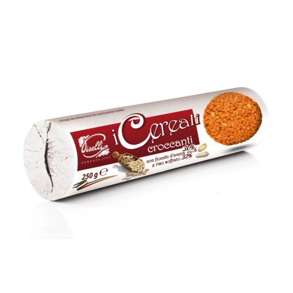 Biscuiti Piselli Cereale Crocante Tub. 230 g