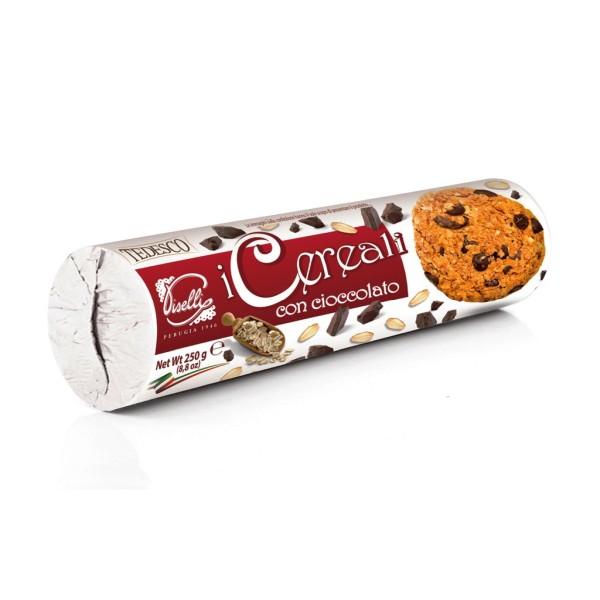 Biscuiti Piselli Cereale cu Ciocolata 250 g
