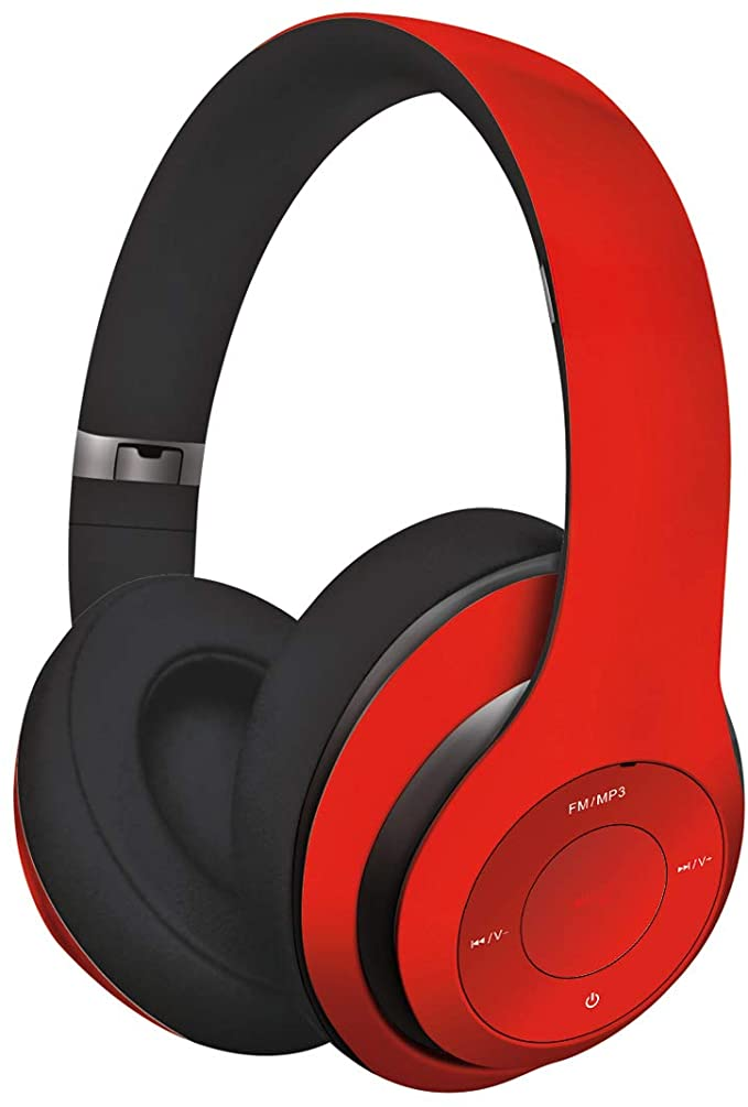 """Bluetooth HeadSet Freestyle""""StudioFH0916"""" RED"""