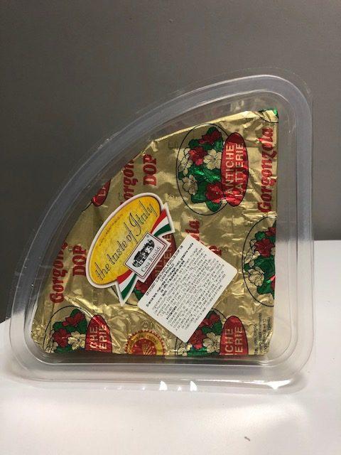 Branza Gorgonzola dulce 1/8 1,5KG CIRCA