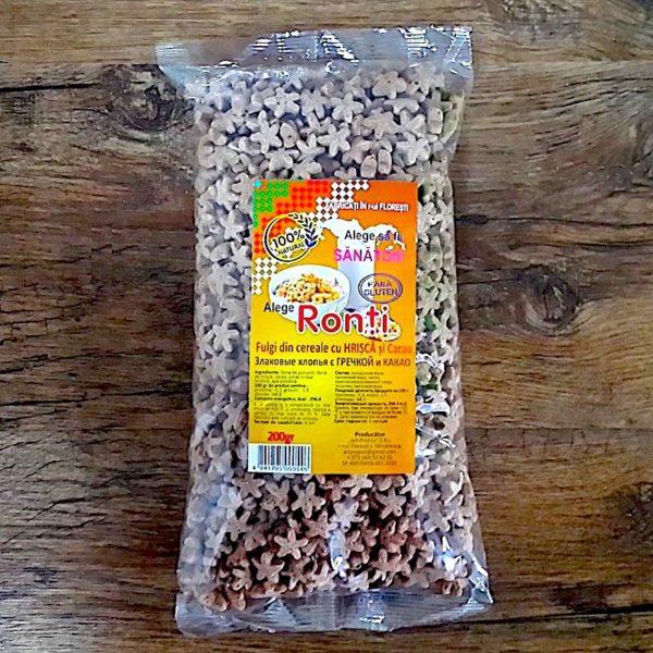 Cereale cu hrișcă și cacao 200gr