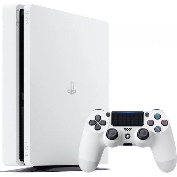 Consola SONY PlayStation 4 Slim (PS4 Slim) 500GB, White