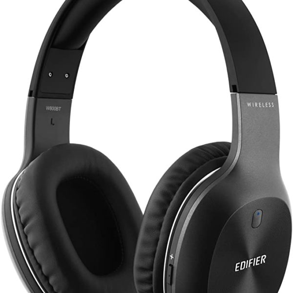 Edifier W800BT Black / Bluetooth and Wired On-ear headphones with microphone