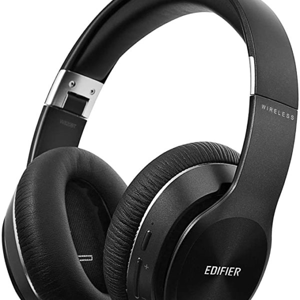 Edifier W820BT Black / Bluetooth and Wired On-ear headphones with microphone