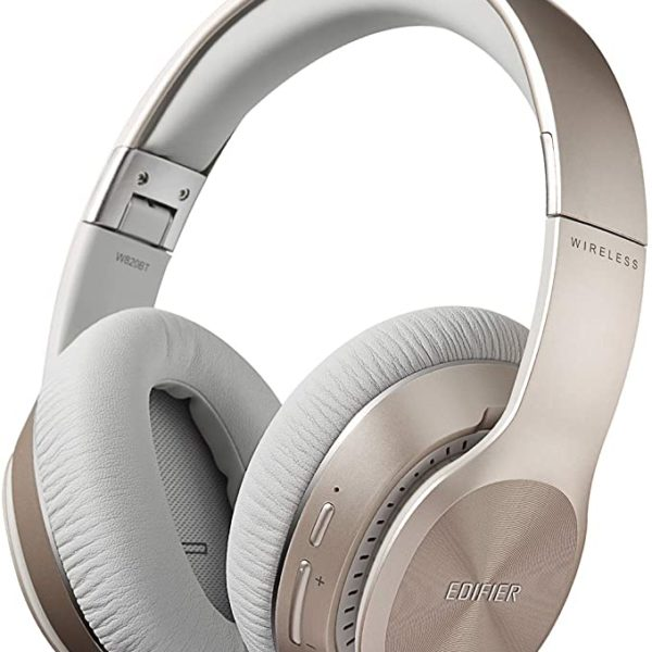Edifier W820BT Gold / Bluetooth and Wired On-ear headphones with microphone