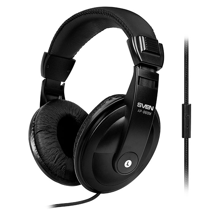 Headset SVEN AP-860M with Microphone on cable