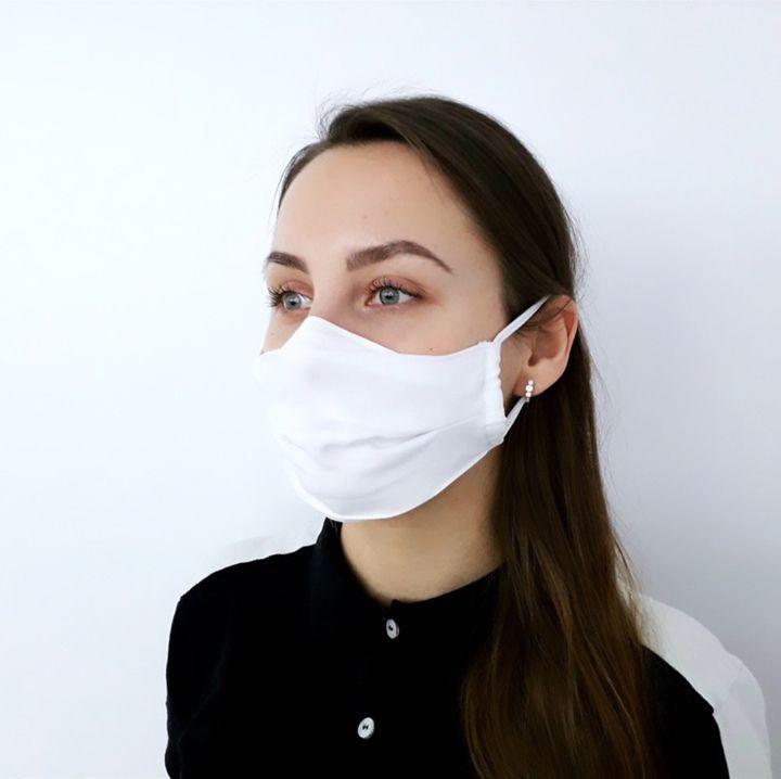 Mască de protecție cu buzunar