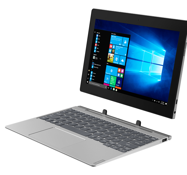 "NB Lenovo 10.1"" IdeaPad D330-10IGM Grey (Pentium N5000 4Gb 128Gb Win 10)"