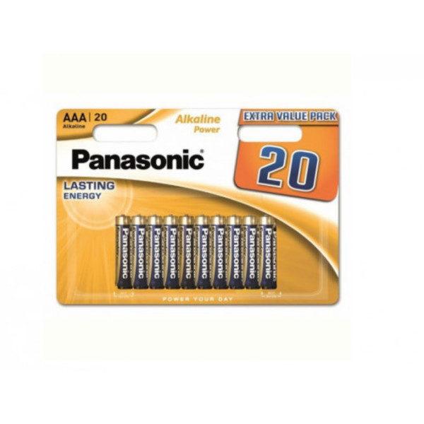 "Panasonic ""ALKALINE Power"" AA Blister*20, Alkaline, LR6REB/20BW"