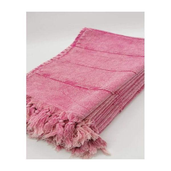 Prosop Roz cu Franjuri