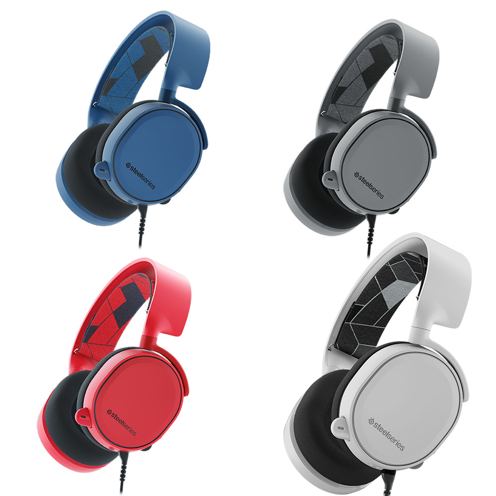 STEELSERIES Arctis 3 / Gaming Headset with retractable Best Mic in Gaming