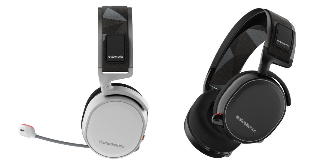 STEELSERIES Arctis 5 / Gaming Headset with retractable Best Mic in Gaming