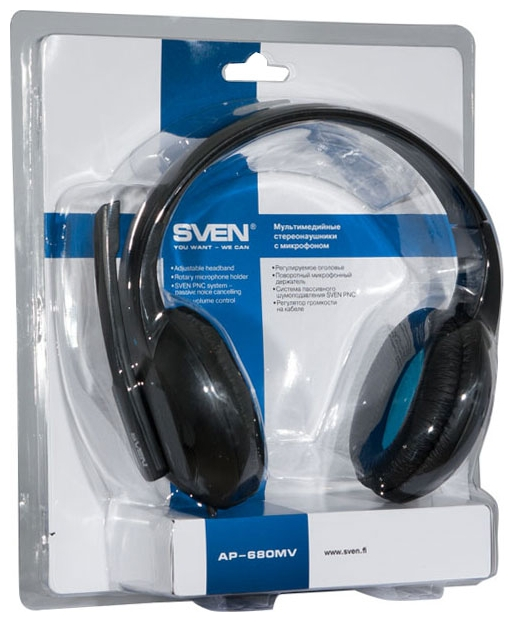 SVEN AP-680MV with Microphone