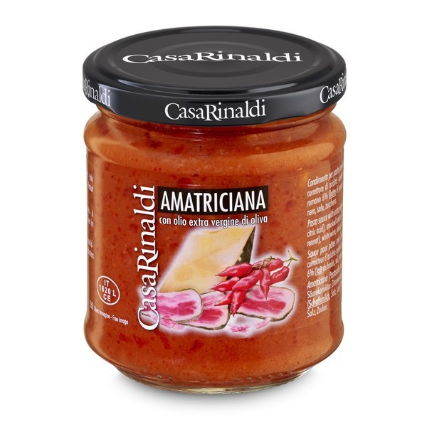Sos paste Amatriciana Casa Rinaldi