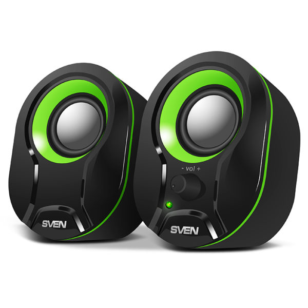 "Speakers SVEN ""290"" Black/Green"