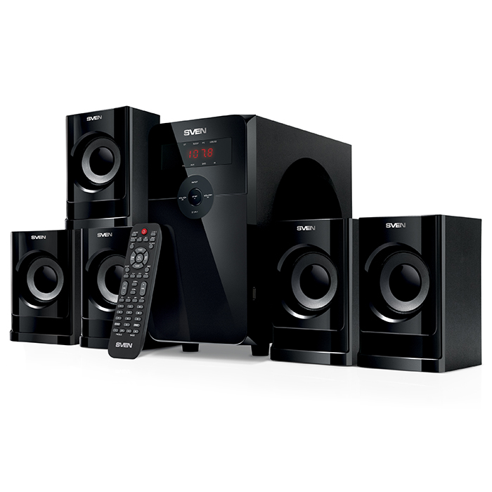 "Speakers  SVEN ""HT-201"" 80w / 20w+5*12w"