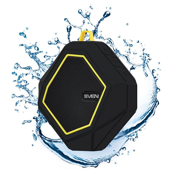 "Speakers  SVEN ""PS- 77"" Black/Yellow"