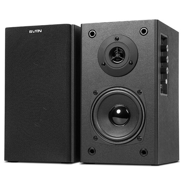 "Speakers SVEN ""SPS-611S"" Black leather"