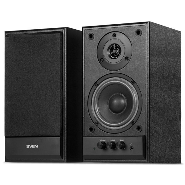 "Speakers SVEN ""SPS-702"" Black leather"