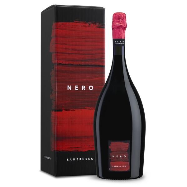 Vin petiant demisec rosu NERO Lambrusco dell Emilia IGT CR
