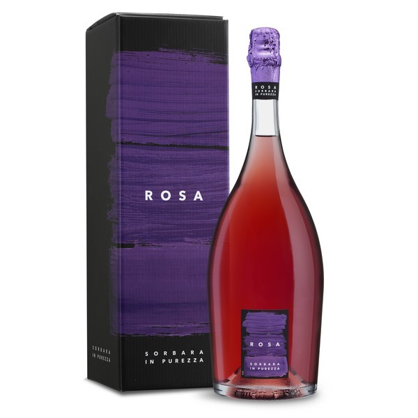 Vin petiant sec roz ROSA Lambrusco di Sorbara DOP CR