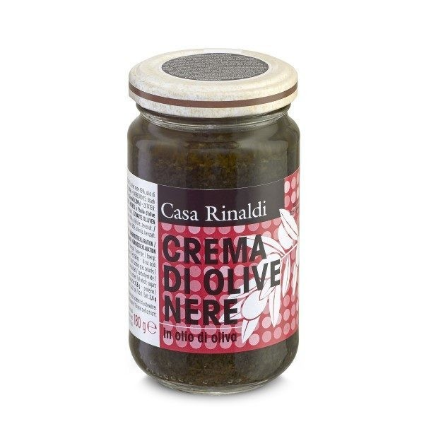 Crema de masline negre ulei masl. Casa Rinaldi 180 gr