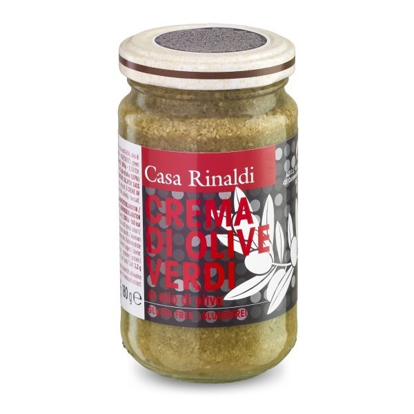 Crema de masline verzi ulei masl. Casa Rinaldi 180 g