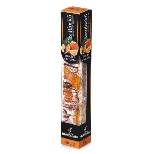 Nuga Il Morbidoso portoc. si ciocolata Casa Rinaldi 100 g