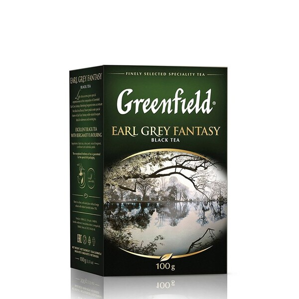 Сeai Earl grey black Greenfield