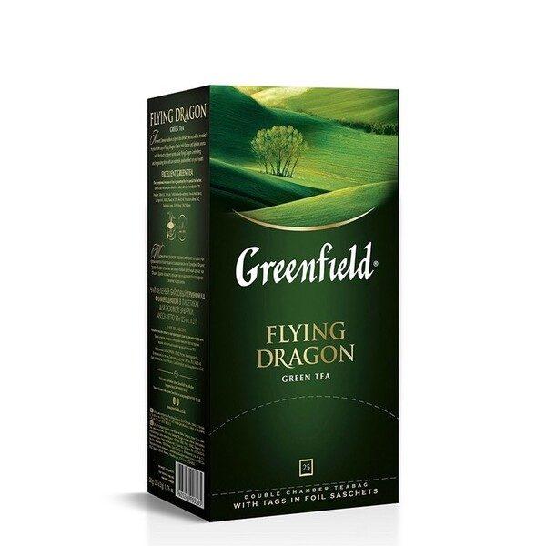 Сeai Flying Dragon green tea Greenfield