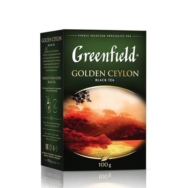Сeai Gold Ceylon black Greenfield