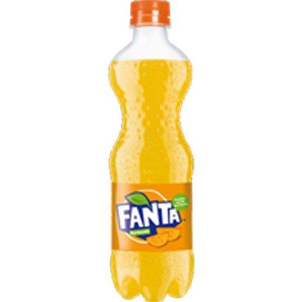 B-ra carbo-sa Fanta Orange 0.5L