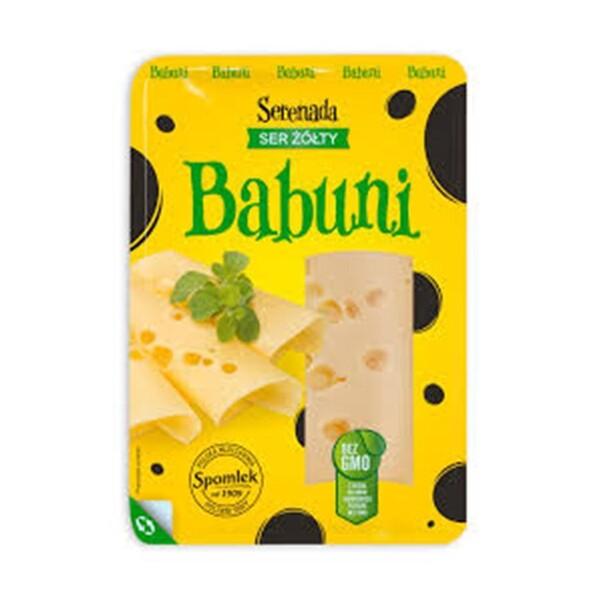 "Brânză cu cheag semi-tare feliata ""Babuni"" Serenada"