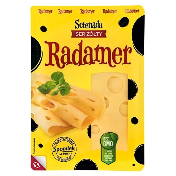 "Brinza cu cheag semi-tare feliata ""Radamer"""