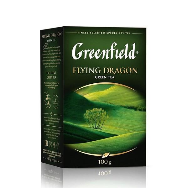 Ceai Flying Dragon green tea Greenfield 100g