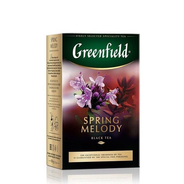 Ceai Spring Melody Greenfield 100g