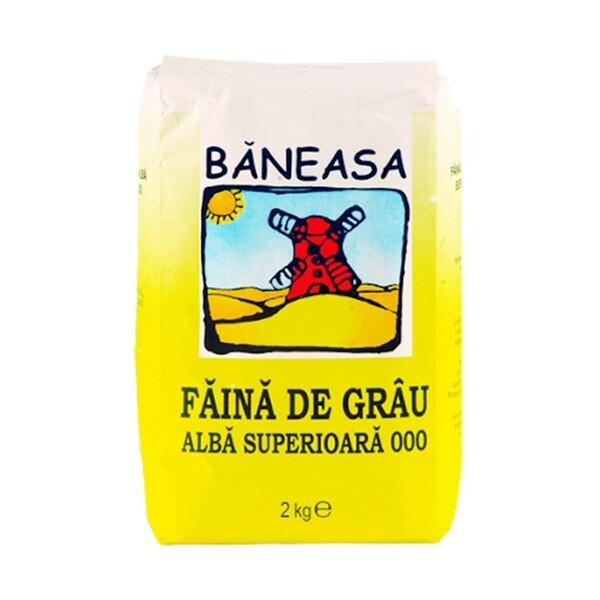 """Făină de grâu """"Baneasa"""" 2kg"""